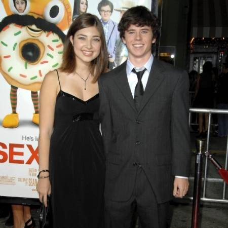 Charlie McDermott with his ex-girlfriend Shelby Young
