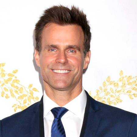 Cameron Mathison looking handsome with his blue eyes